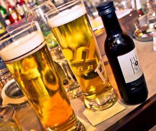 για κρασί ή μπύρα